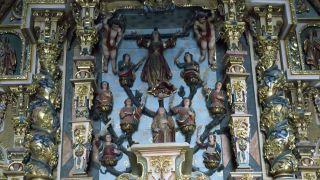 Retablo de Santa Liberata, sus ocho hermanas y su nodriza, Baiona