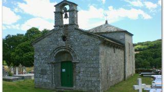 La preciosa iglesia románica de San Román da Retorta