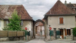 Entrada a Saint-Genix-sur-Guiers