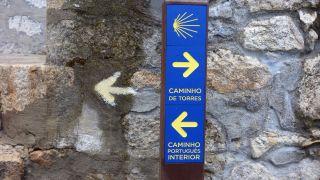 Bifurcación Camino Interior con Camino Torres, Sande