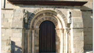 Portada meridional de la iglesia de Santa Marta de Tera