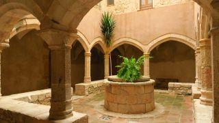 Interior del Monasterio de Santes Creus