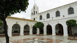 Santuario de la Virgen de la Cinta, a la salida de Huelva