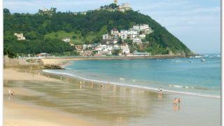 Playa de La Concha y Monte Igueldo, San Sebastián