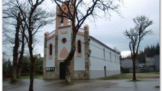 Iglesia de Barciela, a la salida de Sigüeiro