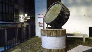 Monumento al tambor, un clásico de la Semana Santa de Baena