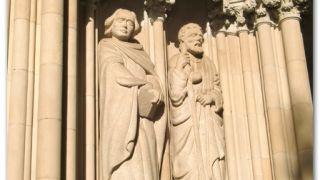 Detalle de la basílica del Sant Esperit, Terrassa