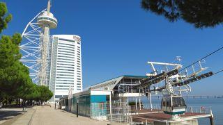 Torre Vasco da Gama, al final del Parque das Nações