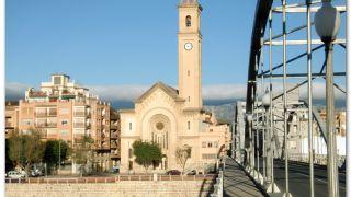 Puente del Ebro y la Iglesia del Roser, Tortosa