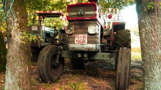 Tractores históricos en Penerbosa