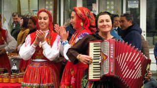 Música y trajes tradicionales en Viana do Castelo