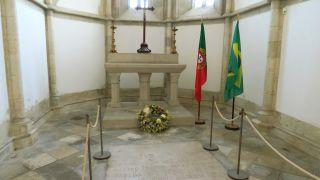Tumba de Pedro Álvares Cabral en Santarém