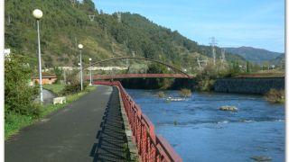 Riu Caudal, a la salida de Ujo