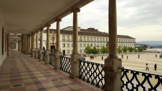 Paço das Escolas en la Universidad de Coimbra