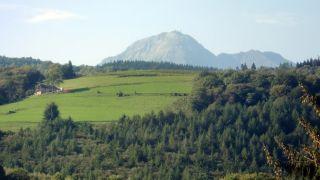 Pic du Midi de Bigorre desde Uzer, con zoom