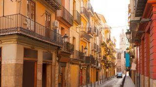 Calle del barrio del Carmen, Valencia