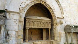 Sepulcro del Monasterio de Santa Maria de Vallbona de les Monges