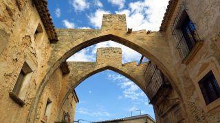 Arcos de la antigua bodega del Monasterio de Vallbona de les Monges