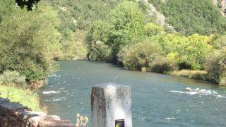 El río Esla a su paso por Verdiago
