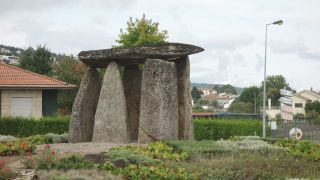 Rotonda a la entrada de Vila Pouca de Aguiar