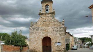 Ermita a la entrada de Villalibre de la Jurisdicción