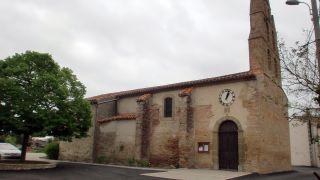 Iglesia de Villeneuve-lès-Montréal