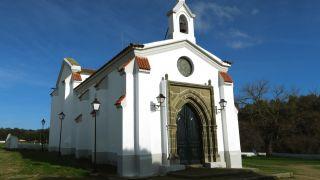 Ermita de la Virgen del Valle, a la entrada de Valencia del Ventoso