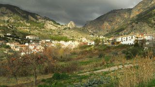 Vista del pueblo de Olivares