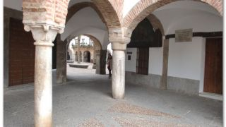 La Vara de Zafra, grabada en una columna
