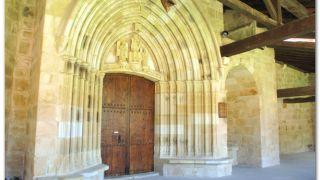 Portada de la iglesia del monasterio de Zenarruza