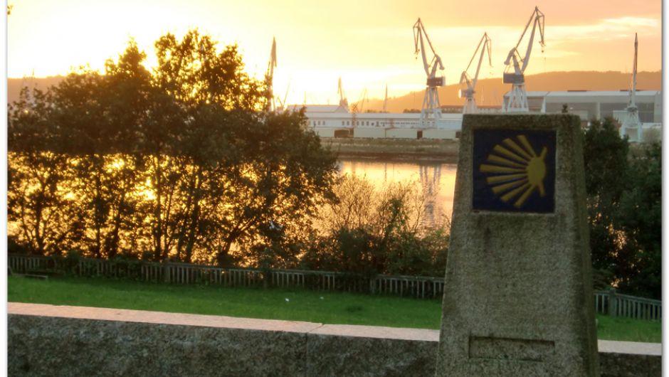 Salida de Ferrol