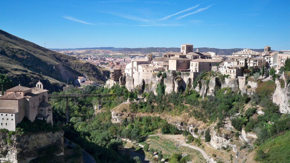 Vista del Casco Antiguo de Cuenca