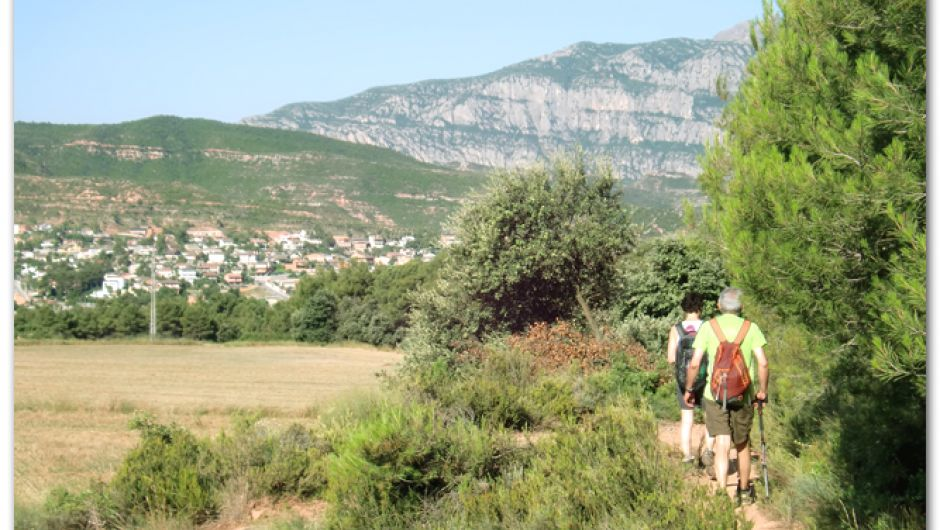 De camino a Montserrat