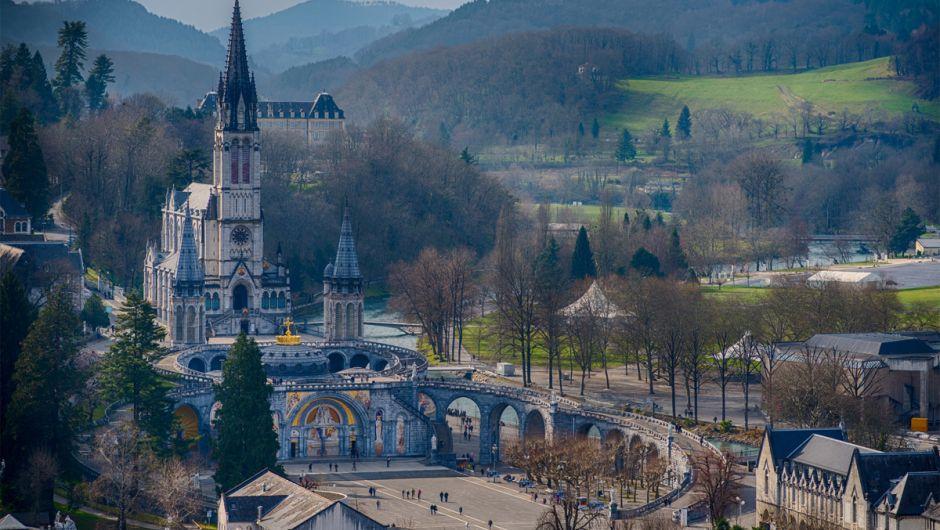 Santuario de Lourdes, Camino del Piamonte