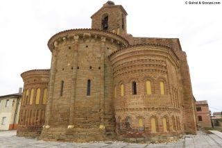 Ábsides románico y mudéjares de la iglesia de Santervás de Campos