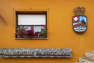 Albergue parroquial de Hospital de Órbigo, uno de los que forman parte de la ACC