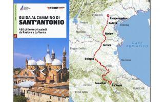 Guía recién editada que describe en 22 etapas el Camino de San Antonio