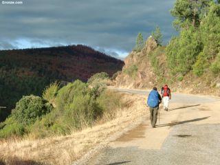 De camino a Albaredo