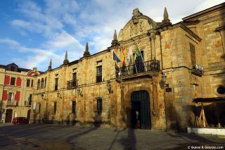Ayuntamiento de Lourenzá, en el edificio del antiguo monasterio
