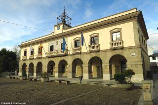 Edificio del ayuntamiento de Vegadeo