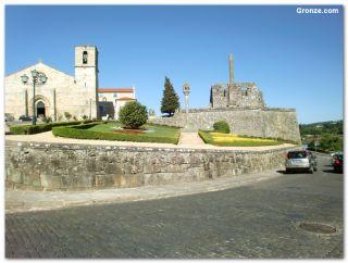 Pazo dos Condes de Barcelos e iglesia Matriz, Barcelos