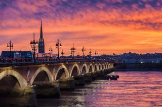 Río Garonne, Bordeaux