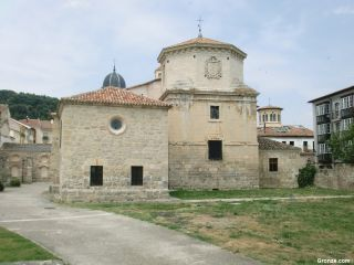 Trasera de la iglesia de Santa María la Mayor, Briviesca