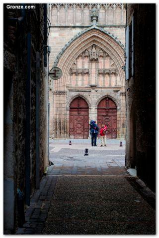 Portada de la catedral de Cahors