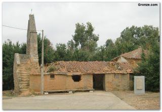 Ruinas de la iglesia de las Santas Justa y Rufina, Calzadilla de Tera