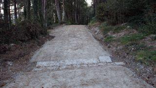 Plataforma urbanizada en el Camino Primitivo (Foto: Foro del Camino Primitivo)