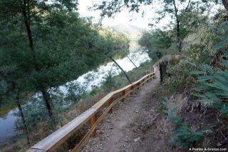 Río Mondego, de camino a Raiva