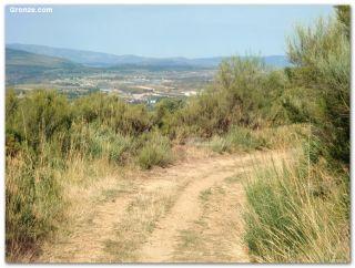Descendiendo de A Canda, ya en Galicia