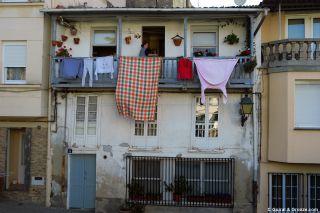 Casa típica del casco antiguo de Pontedeume