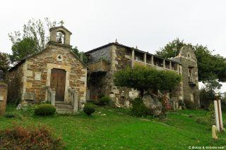 Casa-museo del artista Víctor Corral en Baamonde